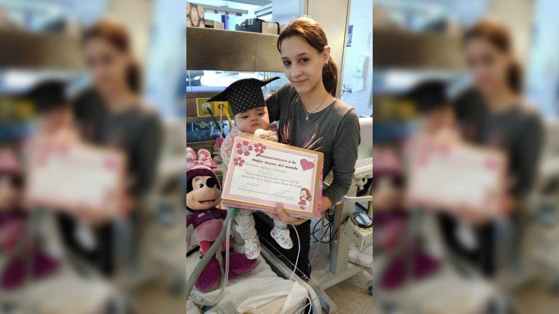 Le dieron el alta a una beba que nació cincomesina en Neuquén