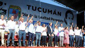 En Tucumán se dio uno de los festejos por el Día de la Lealtad