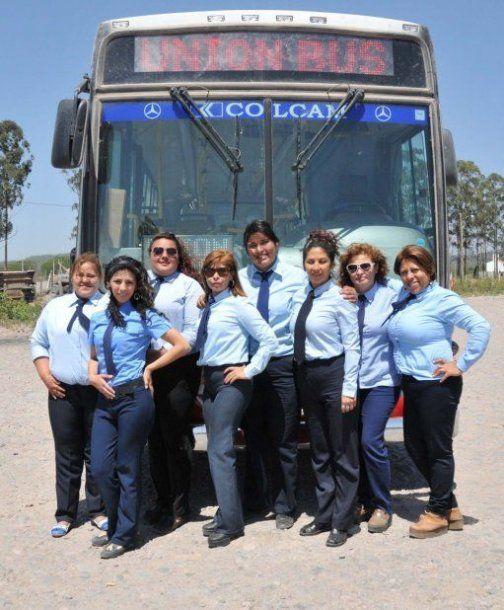 Colectiveras en Jujuy