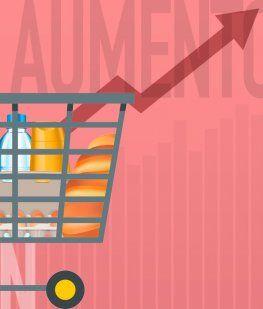 La inflación golpea más a los pobres: fideos, leche y yerba, las mayores subas de octubre