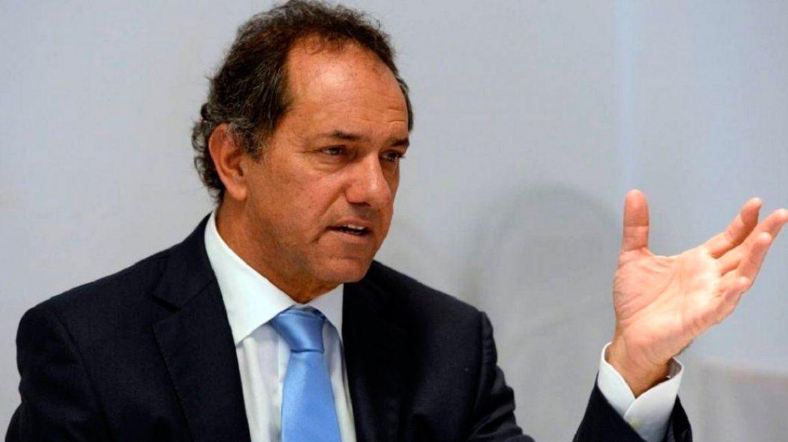 Los primeros convocados llegan a la Rosada: Scioli y dos gobernadores peronistas