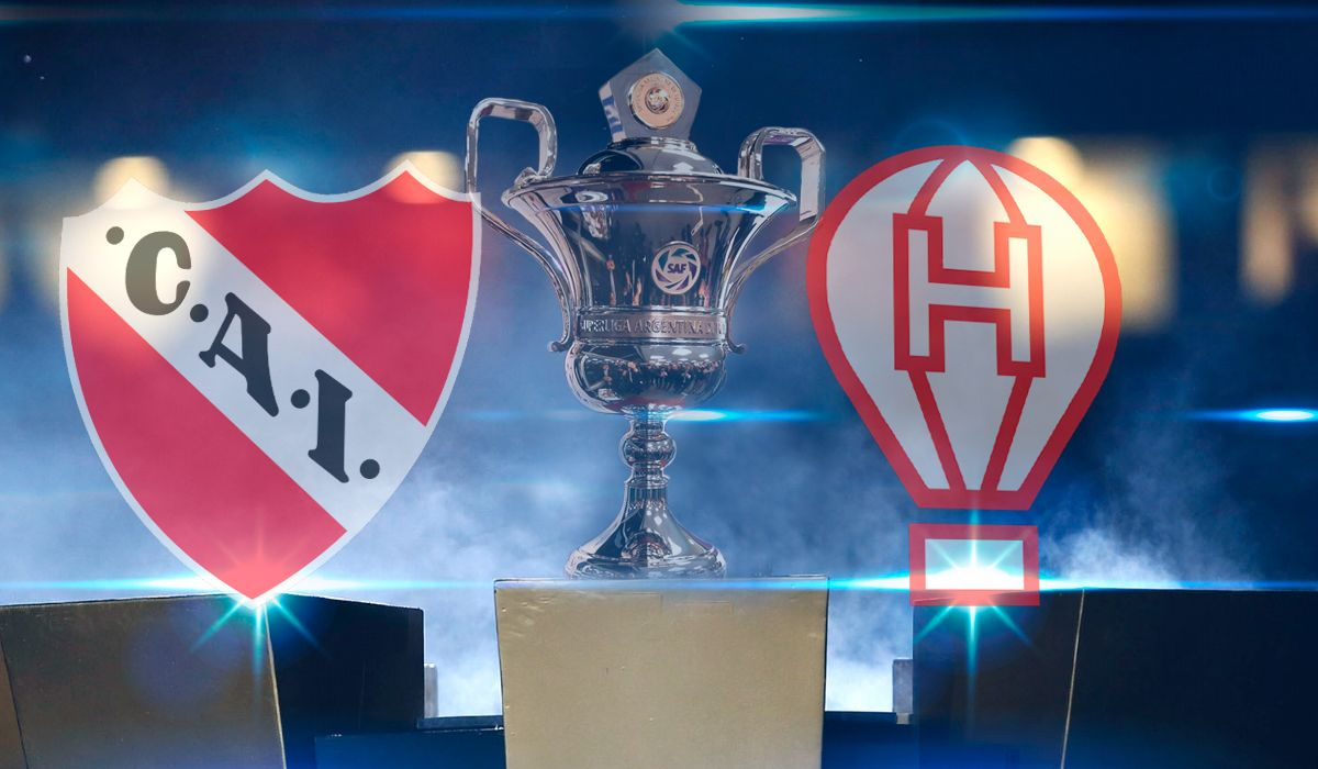 Independiente vs Huracán: formaciones, horario y TV