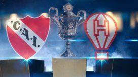 Independiente vs Huracán: formaciones