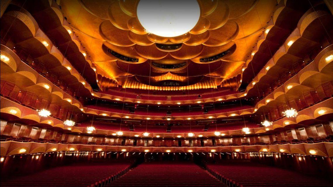 La moderna Metropolitan Opera de Nueva York