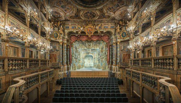 La exquisita Ópera del Margrave, en Franconia, Alemania