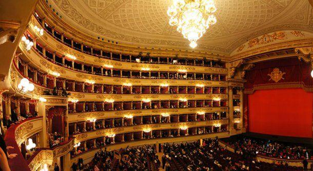 La Scala de Milán, en un segundo lugar justo detrás del Colón