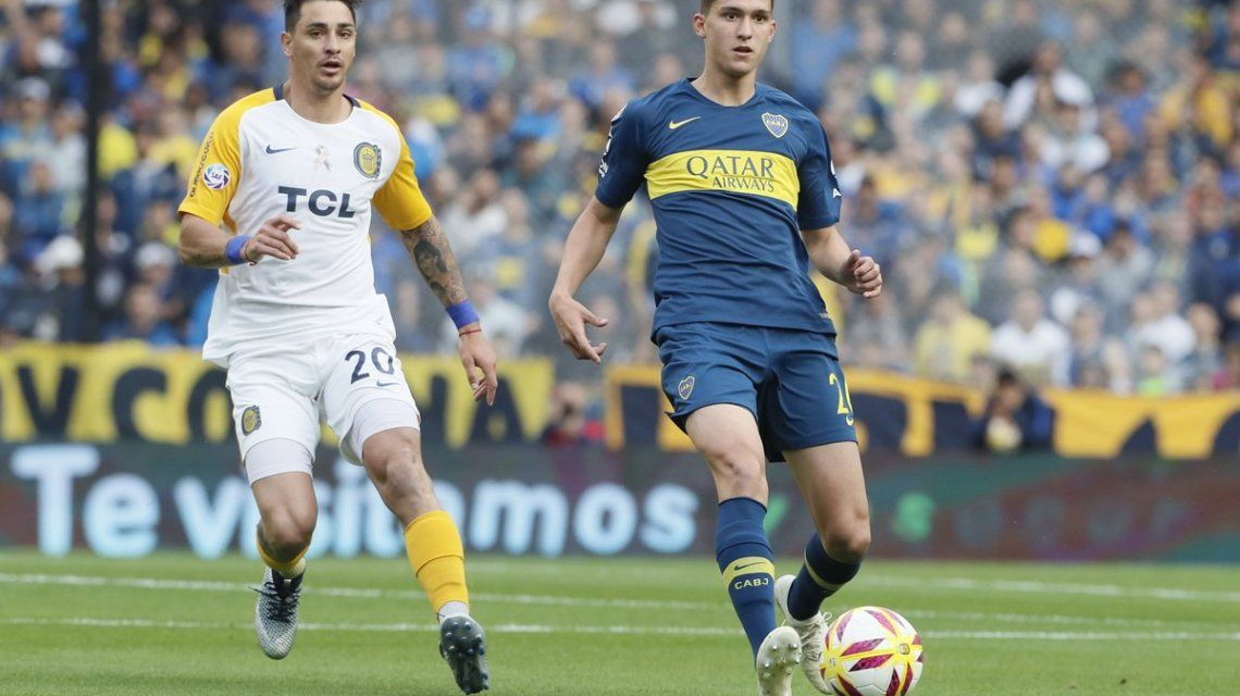 Boca vs rosario Central - Crédito:@BocaJrsOficial