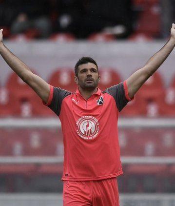 Emmanuel Gigliotti en Independiente - Crédito:@Independiente