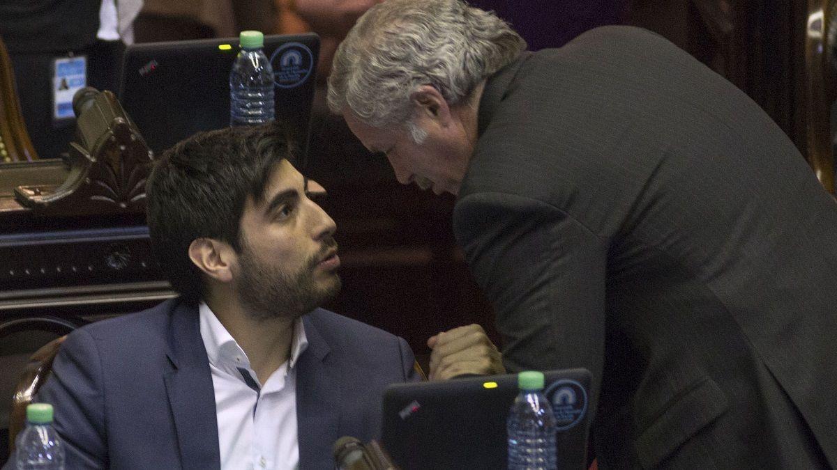Solá y Facundo Moyano abandonarán el bloque del Frente Renovador