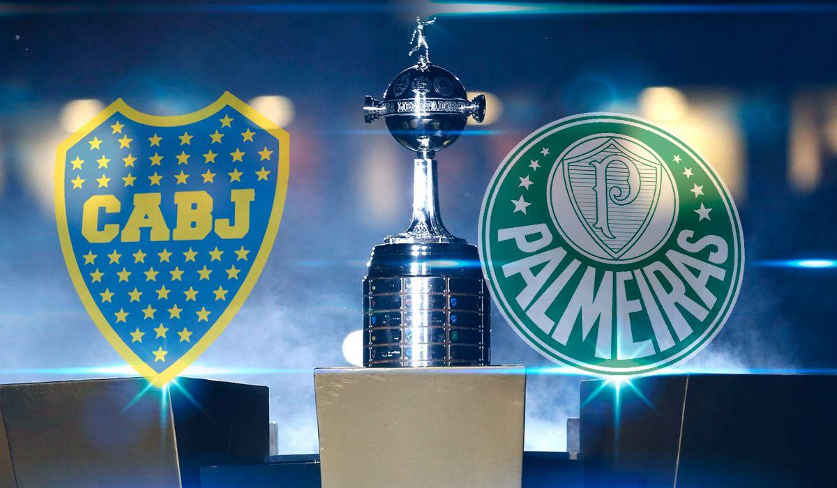 Boca vs Palmeiras por las semifinales de la Copa Libertadores: horario, formaciones y TV
