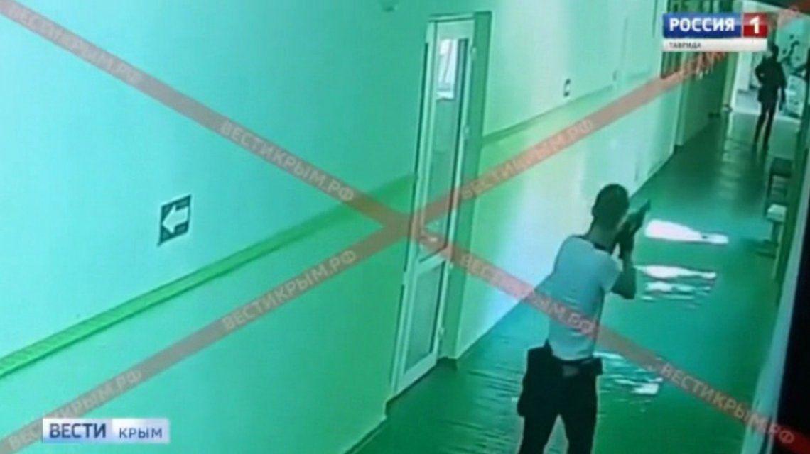 VIDEO: Así fue la masacre en el colegio de Crimea
