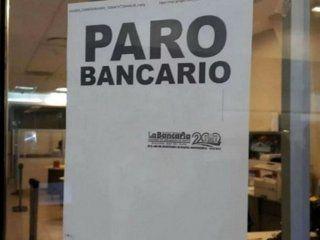 anunciaron un paro bancario para el miercoles