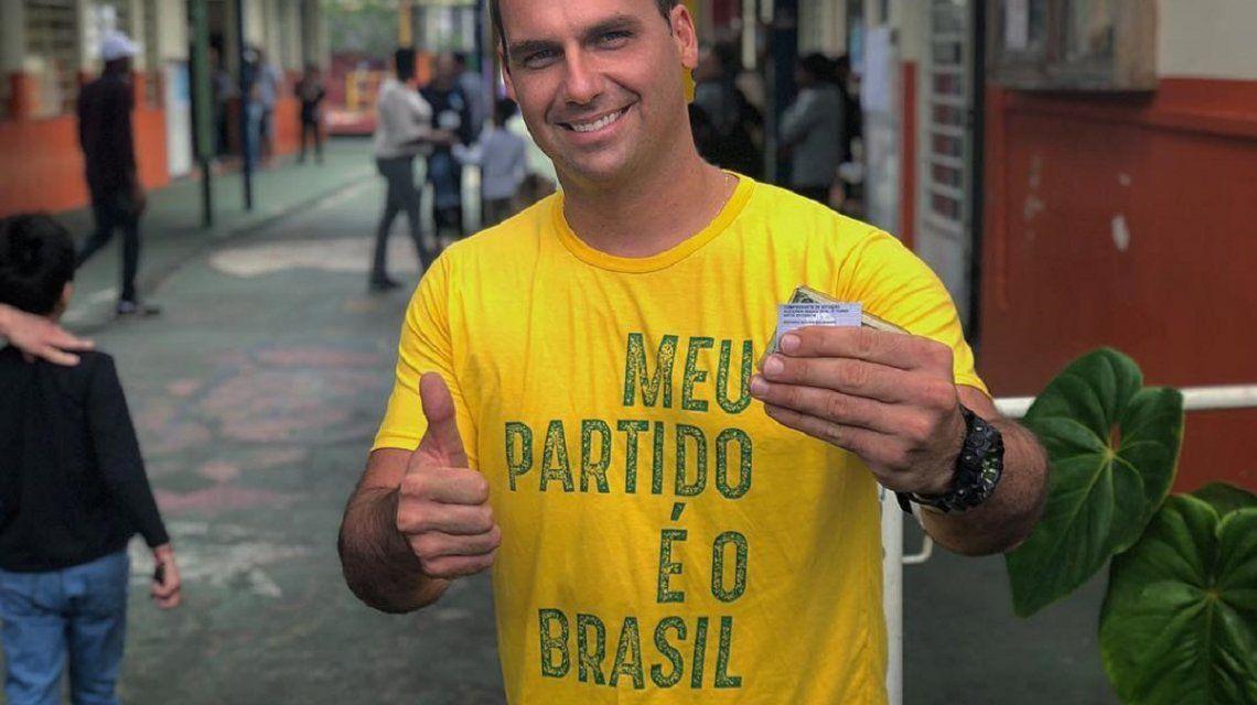 Eduardo Bolsonaro - Crédito: Facebook Eduardo Bolsonaro