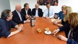 Massa, Alfonsín, Lifschitz, Tumini y Stolbizer - Crédito:@SergioMassa