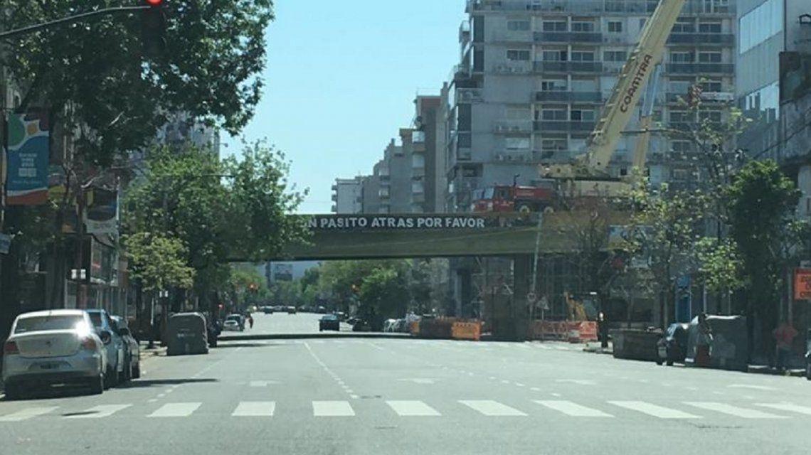 Desde hoy, cierran un mes la avenida Córdoba, a la altura de Juan B. Justo: por dónde circular