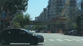 Cierran un mes la avenida Córdoba, a la altura de Juan B. Justo: por dónde circular