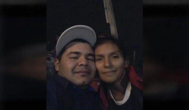 <p>Leonela Ayala y Fabián González</p>