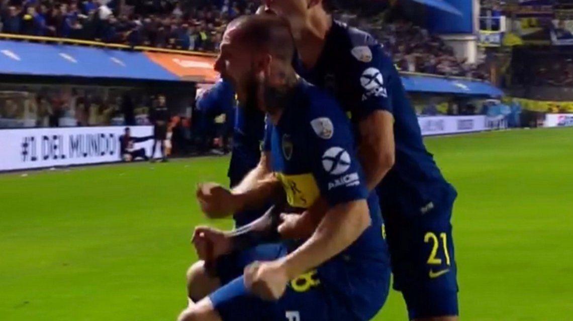 Boca le ganó a Palmeiras en la Bombonera y empieza a soñar con la final de la Libertadores