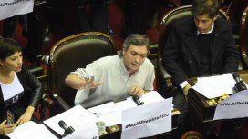 Máximo Kirchner criticó con fuerza al Presupuesto