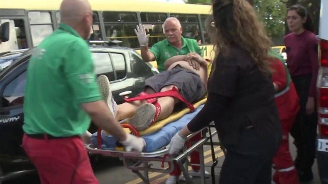 Chacarita: un limpiavidrios acuchilló a un hombre que iba en un auto con su familia