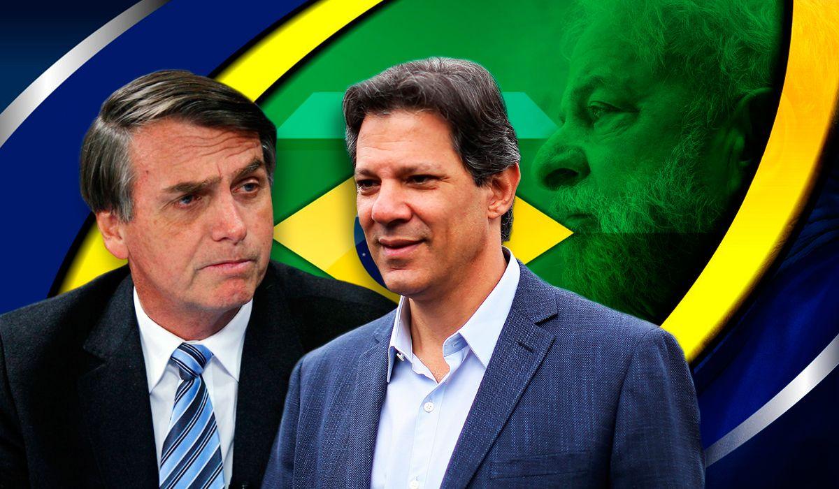Balotaje en Brasil: Bolsonaro espera tranquilo, mientras que Haddad aspira a un batacazo