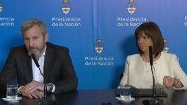 Frigerio, tras lo incidentes del Congreso: Queremos echar a los extranjeros detenidos