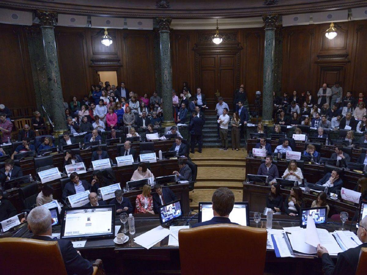 Legislatura porteña - Crédito:@LegisCABA