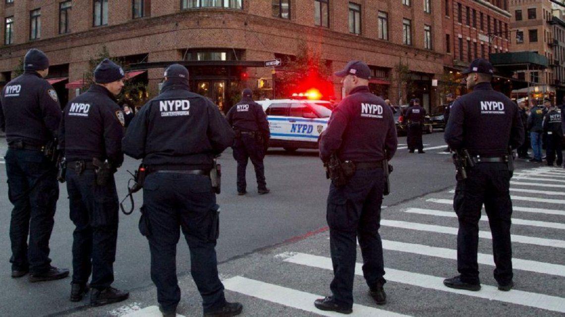 La policía rodea el Time Warner Center de Nueva York