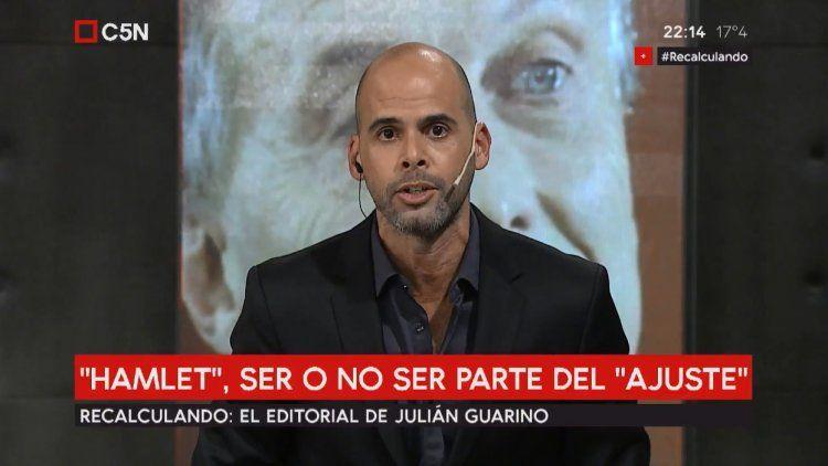 Julián Guarino partió de Hamlet para su editorial en Recalculando
