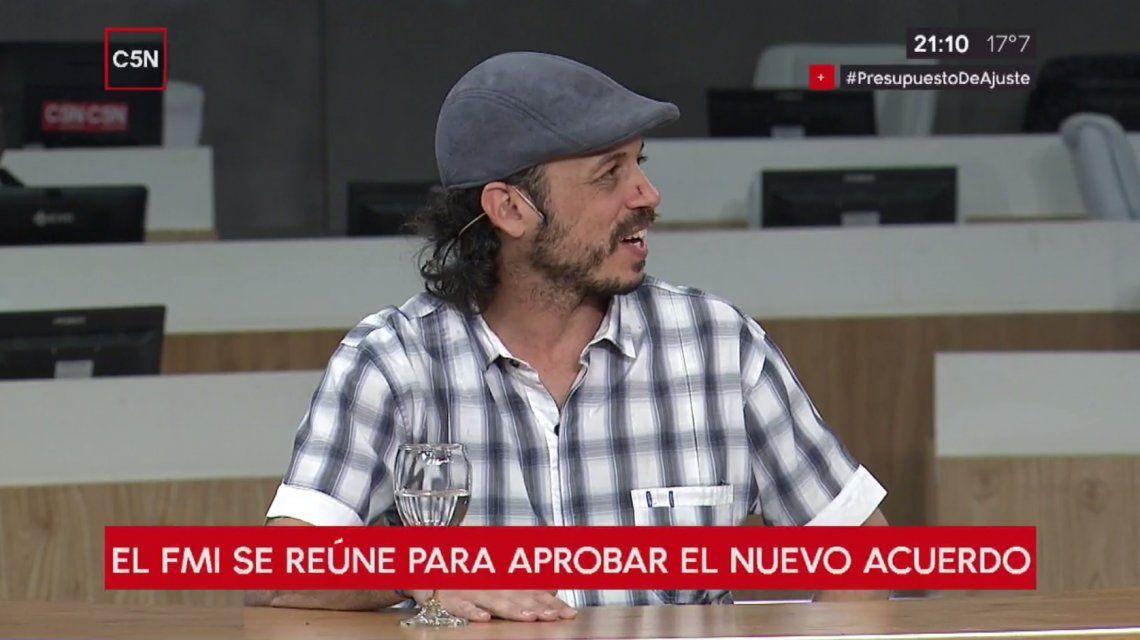 Nacho Levy es el director de La Garganta Poderosa