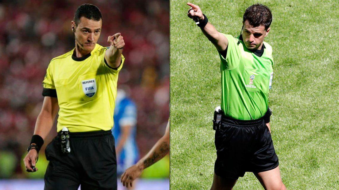 Copa Libertadores: Roldán y Cunha, los árbitros para los partidos de vuelta de Boca y River