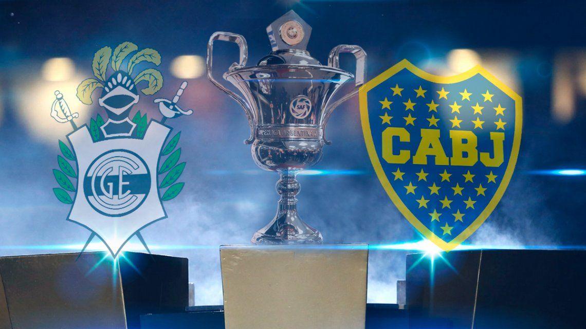 Boca vs. Gimnasia por la Superliga: horario, formaciones y TV