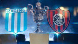 Racing vs. San Lorenzo por la Superliga: horario