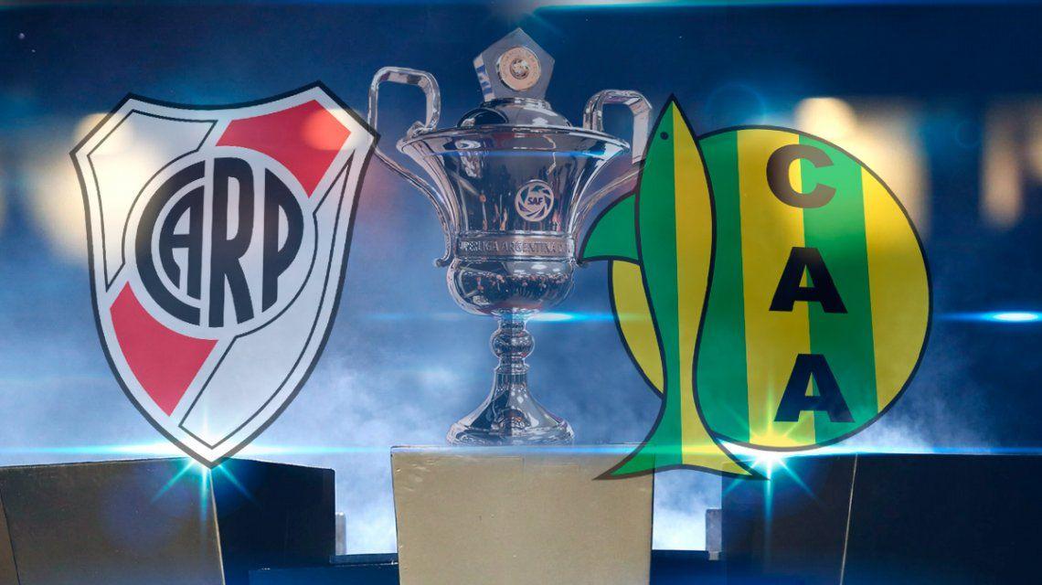 River vs. Aldosivi por la Superliga: horario, formaciones y TV