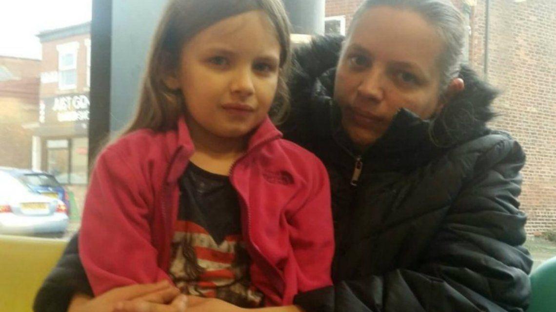 Leanne Silver y su hija
