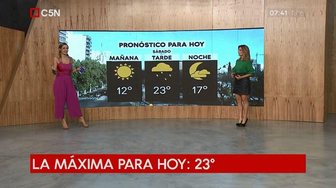 Pronóstico del tiempo del sábado 27 de octubre de 2018