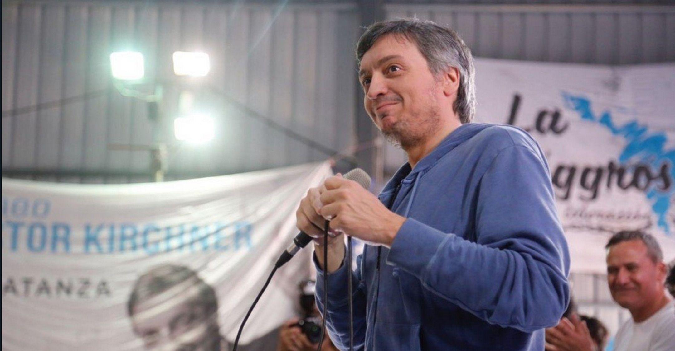 Máximo Kirchner en el homenaje a Néstor a ocho años de muerte