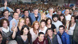 Homenaje a Néstor Kirchner en Villa Palito
