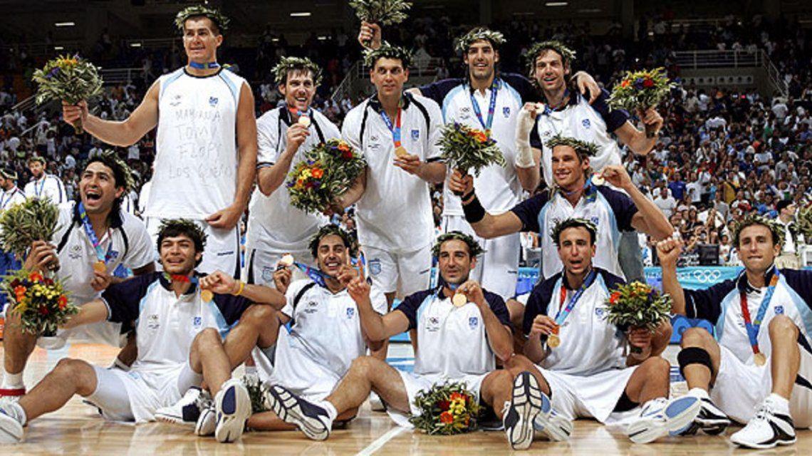 La Generación Dorada festeja el histórico oro conseguido en Atenas 2004