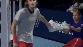 El repudiable gesto de un tenista con una alcanzapelotas