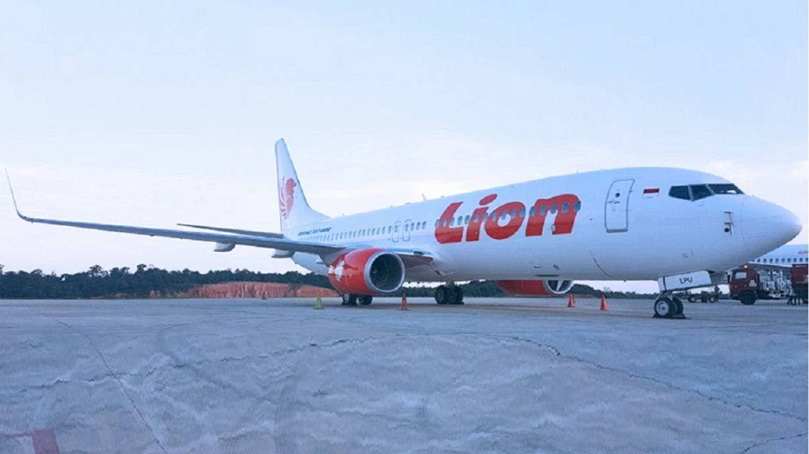 Un avión de la low cost Lion Air cayó en Indonesia con 188 pasajeros a bordo