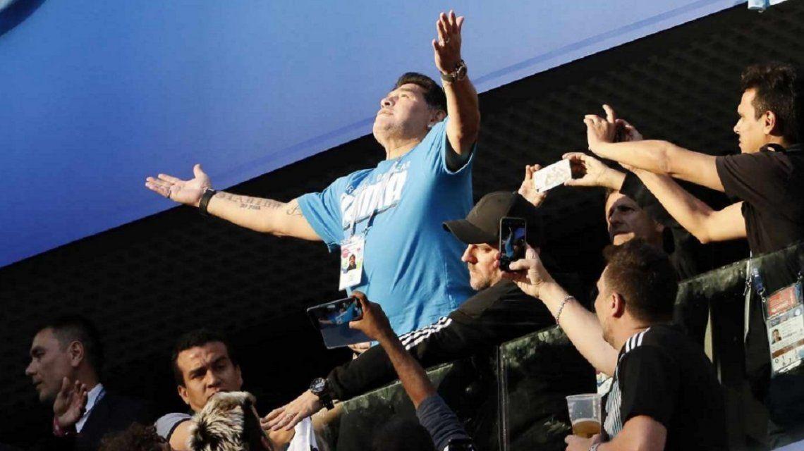 El descargo de Maradona, furioso con las fake news sobre su llegada a Gimnasia