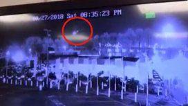 VIDEO: Así fue la caída del helicóptero en el que viajaba el dueño del Leicester