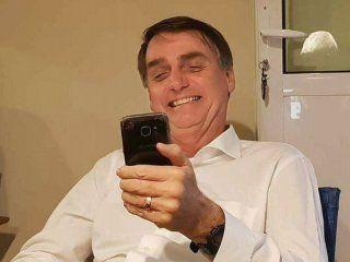 Jair Bolsonaro se fortaleció gracias a las fake news difundidas por WhatsApp