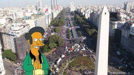 ¿Se llenará el Obelisco de fanáticos de Los Simpson que pedirán la continuidad de Apu?