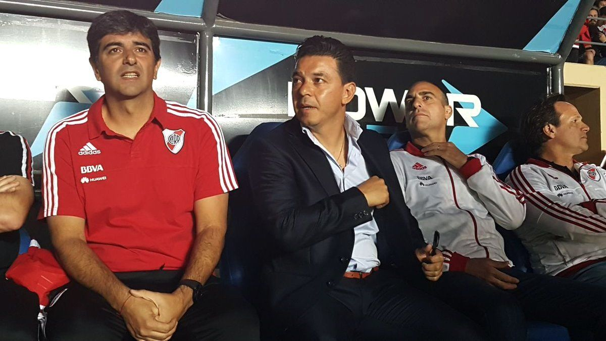 Matías Biscay será el reemplazante de Marcelo Gallardo nuevamente