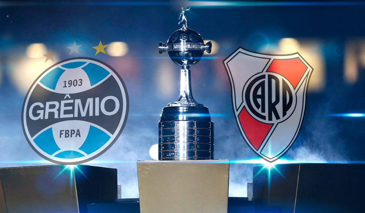 Gremio vs River, por la Copa Libertadores: formaciones, horario y TV