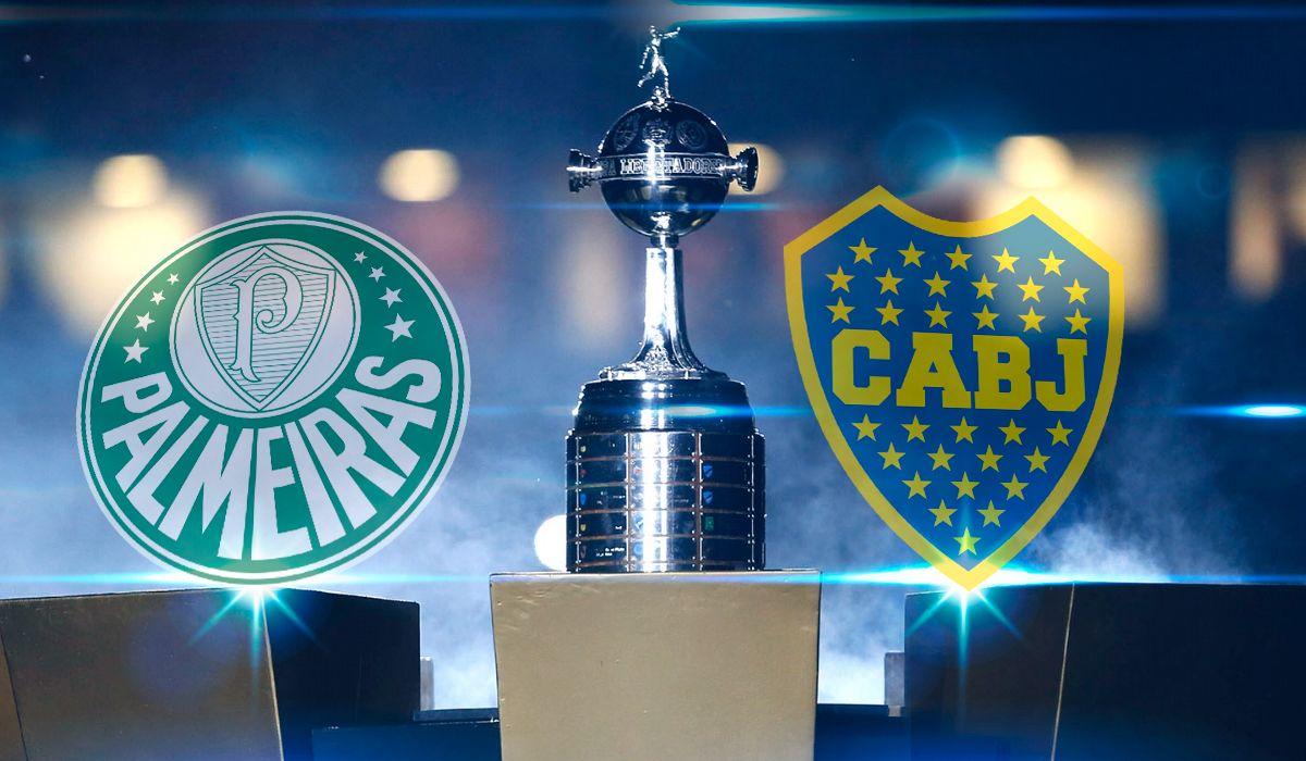 Palmeiras vs. Boca, por la Copa Libertadores: horario, formaciones y TV