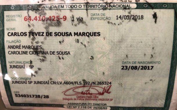 Carlos Tevez de Sousa Marques se llama el pequeño<br>