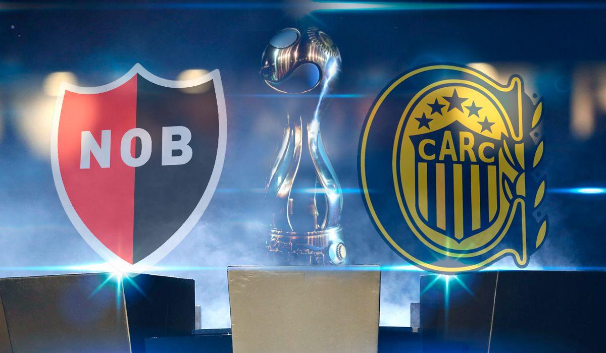 Newells vs. Rosario Central por la Copa Argentina: horario, formaciones y TV